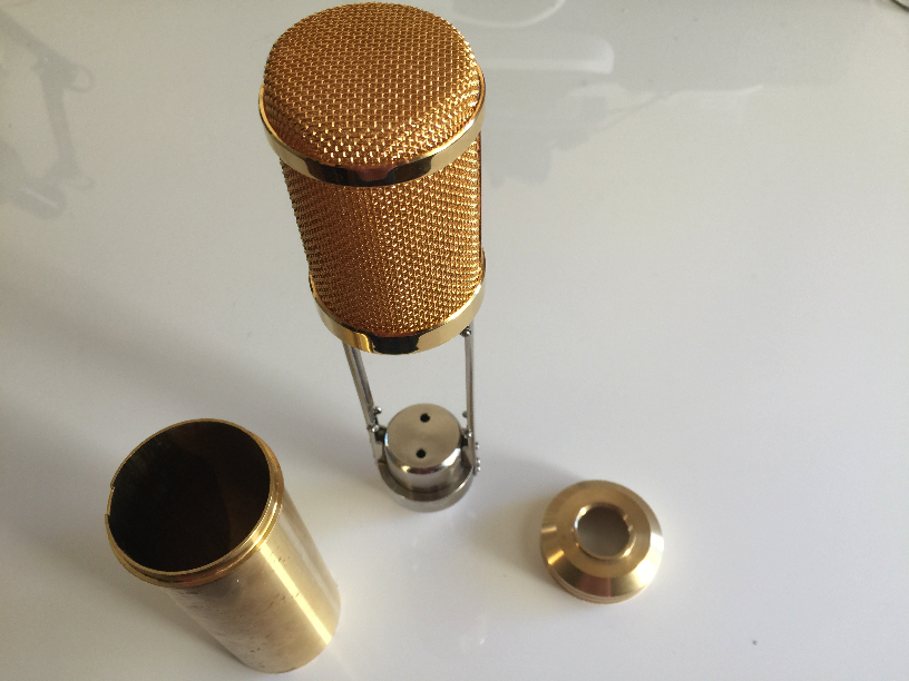Tube Mic Body DIY Parts